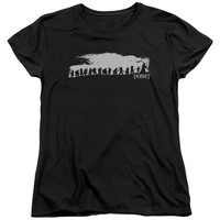 THE HOBBIT/THE COMPANY - S/S WOMEN'S TEE - BLACK -