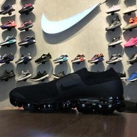CDG X Nike Air VaporMax Moc Flyknit Laceless AH3397-004 Sport Running Shoes - Best Online Sale