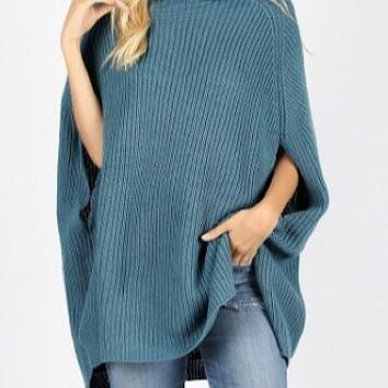 Still the One Poncho | Teal
