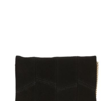 Street Level Suede & Faux Leather Crossbody Bag | Nordstrom