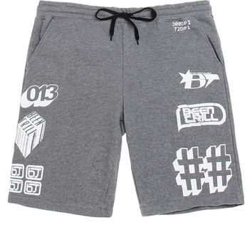 Been Trill Sweat Shorts - Mens Shorts - Gray