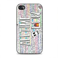 Time Bomb  All Time Low  iPhone 4/4s Case