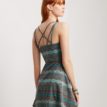 Tribal Strappy Dress