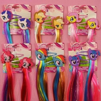 2017 Gift Package My Cute little Unicorn Headwear Hair Claws Bands Fashion Cartoon Headbands Hair Accessories for Girl