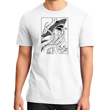 Tentacled District T-Shirt (on man)