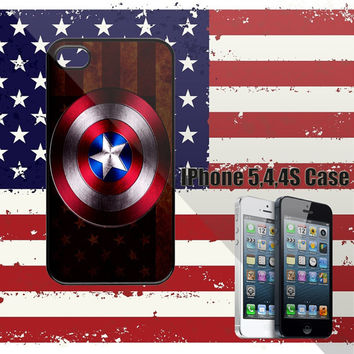 Amazing Captain America 2 IPhone 5 Case,IPhone 4/4S Case,Samsung Galaxy S2/S3/S4 Accessories Cell Phone