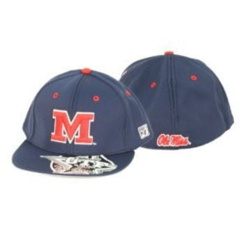 NCAA Ole Miss Rebels The Game Blue Hat With Red Block M
