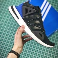 Naked X Adidas Consortium Arkyn Boost Black Sport Running Shoes - Best Online Sale