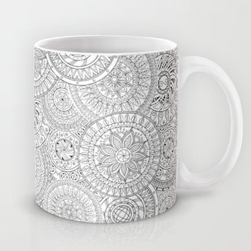 Circle Doodle Art Mug by Kate & Co.