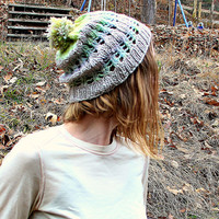 Knit hat, pom pom hat, winter accessory, merino wool hat, gift idea