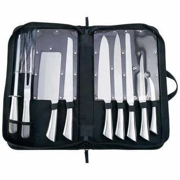10pc Professional Surgical Stainless Steel Cutlery Set