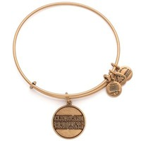 Alex and Ani Cleveland Browns Women's Logo Rafaelian Gold Finish Bracelet