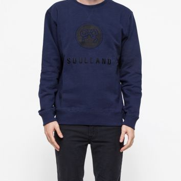 Soulland Ribbon Emblem Sweatshirt