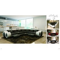 Luxury Turin Reclining Sectional Sofa
