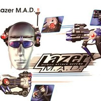 Lazer Tag 2 Player System - Includes 2 Lazerblasters and 2 Headsets