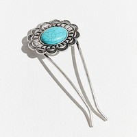Turquoise Bun Pin | Urban Outfitters