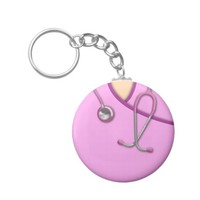 Pink Medical Scrubs