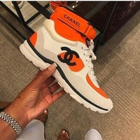 CHANEL High Gang sports shoes
