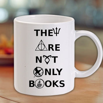 divergent hunger game harry potter book quotes Mug/Cup
