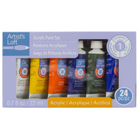 24-Set Acrylic Paint Set By Artist's Loft®