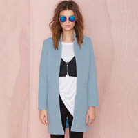 Long Sleeve Long Coat