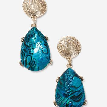 Shell Drop Earrings - Bags & Accessories