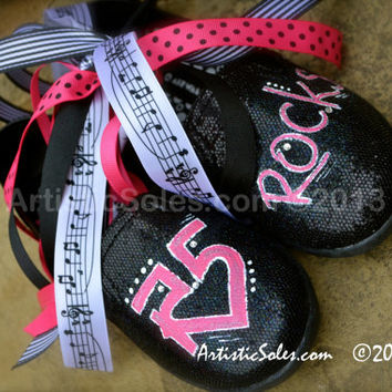 R5 Themed Custom TOMS Shoes - Youth TOMS
