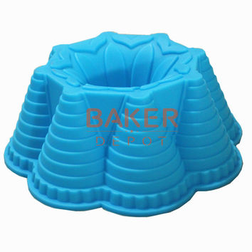 large silicone cake molds DIY cake mold flower bread moulds novelty pastry molds SCM-003-2