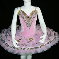 Ballet Tutu - Beautiful Light Pink Color Children's Performance Ballet Tutu