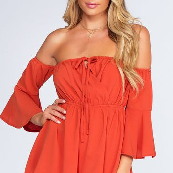 Brick House Romper