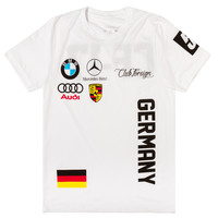 Club Foreign T-Shirt Germany Series in White