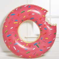 Women's Big Mouth Toys 'Gigantic Donut' Pool Float