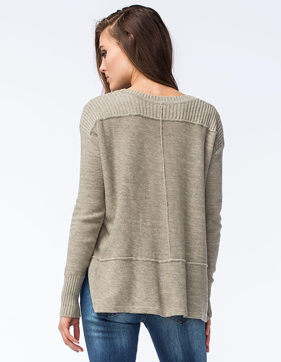 Rip Curl Story Teller Womens Sweater Olive In Sizes