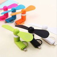 Mobile phone Mini fan For iPhone Mobile phone