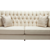 EUGENE BUTTON TUFTED SOFA LOVESEAT