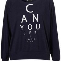 Eye Test Raglan by Illustrated People** - Jersey Tops  - Clothing