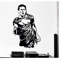Wall Vinyl Decal Lionel Messi Soccer Football FC Barcelona Decor Unique Gift z3821