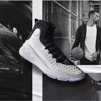 "Under Armour Curry 4 ""Black/White"""