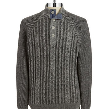 Tommy Bahama Barbados Cableknit Pullover