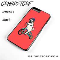 Pug Bicycle For Iphone 6S Case UY