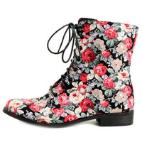 GYPSY WARRIOR - Rayanne Floral Boots