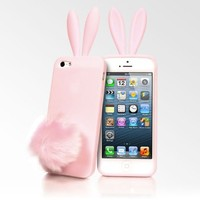 Rabito Bunny Ears iPhone 5 Cases - Pink