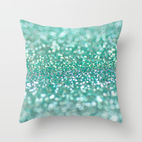 Mermaid Dream Throw Pillow by Lisa Argyropoulos