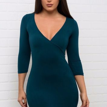 Katy Dress - Teal