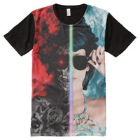 Anger and clam All-Over-Print T-Shirt