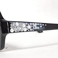 Christian Dior Brillance/F/S Sunglasses Black / Gray Gradient