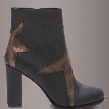 Matisse JILL Star Inlay Ankle Boot Bootie