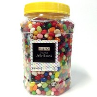 MEMBER's MARK GOURMET JELLY BEANS ALL AMERICAN SNACK 41 UNIQUE FLAVORS 4 lb Jar by Daily Chef