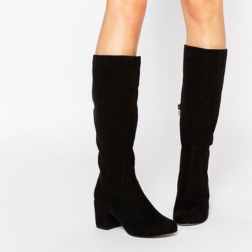 ASOS CATCHY 60's Knee High Boots