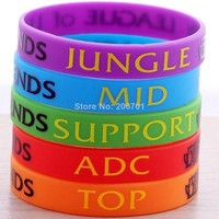 Lol of Legends Top Jungle Adc Mid Support Bracelet